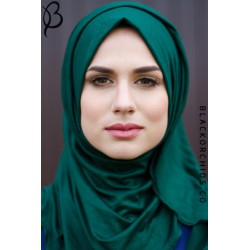 Forest Green Maxi Jersey Hijab