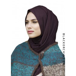 Chestnut Brown Maxi Jersey Hijab