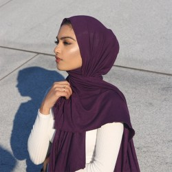 Maxi Jersey Collection- Deep Plum