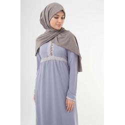 Mink Kitted Maxi Jersey Hijab