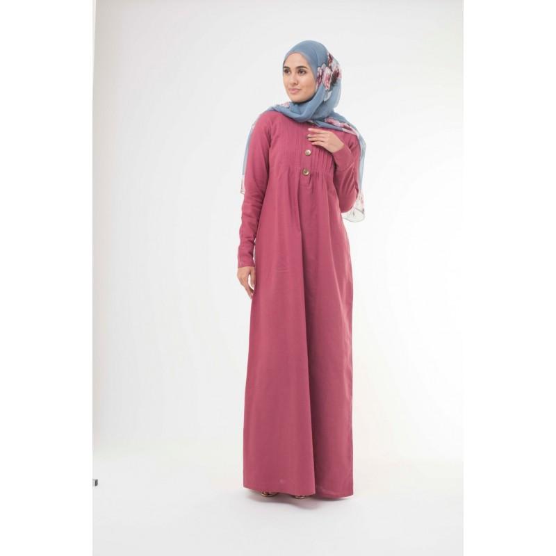 Berry Rose Abaya