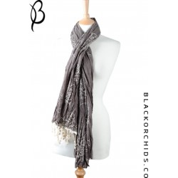 Rose & Grace Hijab Collection- Graphite Grey