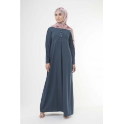 Vintage Teal Abaya