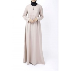 Dusty Pink Abaya