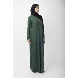 Emerald Pearl Abaya