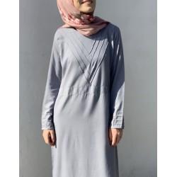 Pewter Pearl Abaya