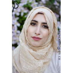 Rose & Grace Hijab Collcetion- Camel Beige