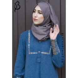Jawhara Hijab - (Black Marl)
